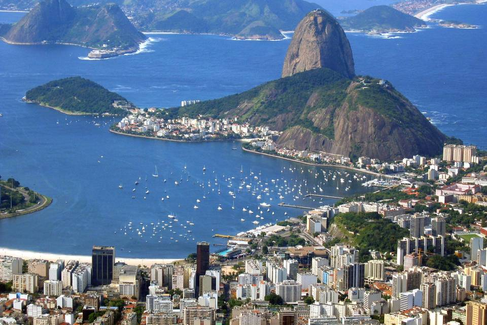 Approaching Brazil