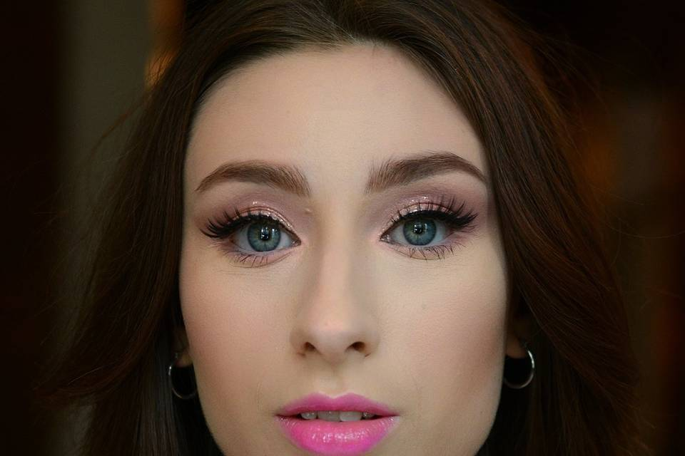 Full Pink Make Up