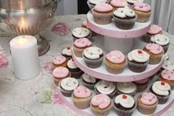 En rosa y blanco