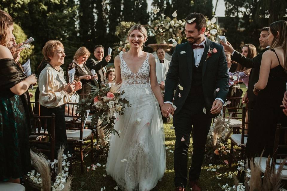 Casamiento en Palacio San Souci