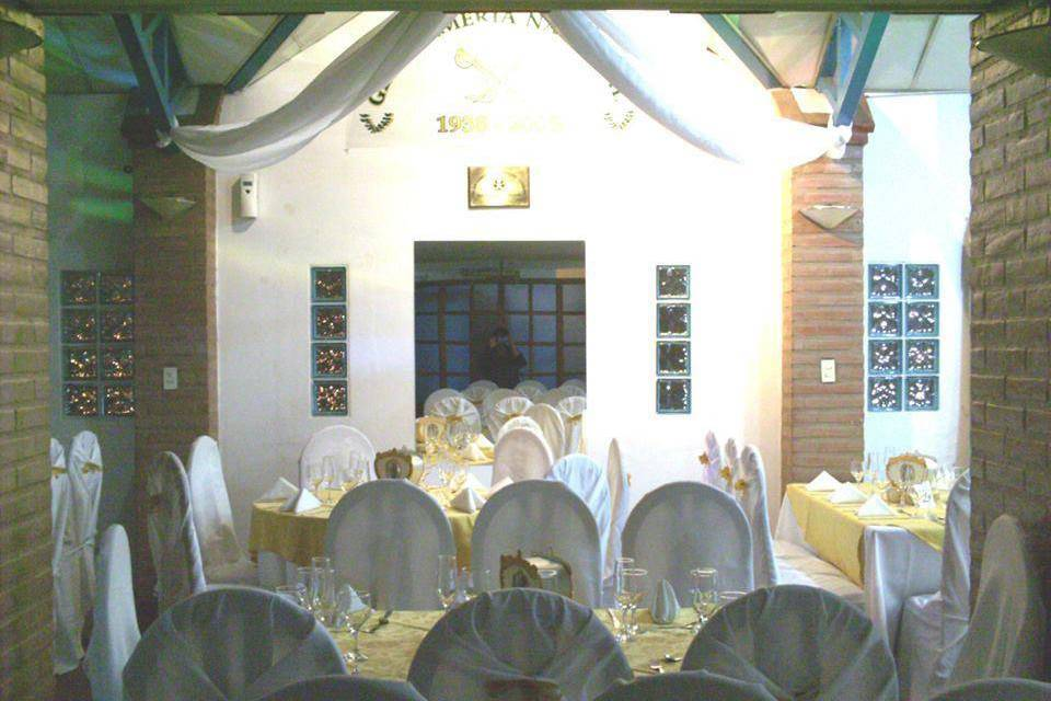 Elegante salón