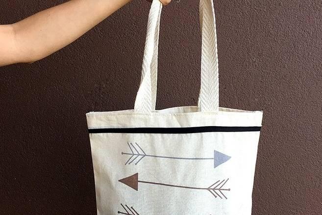 Bolsa de lino para Compras