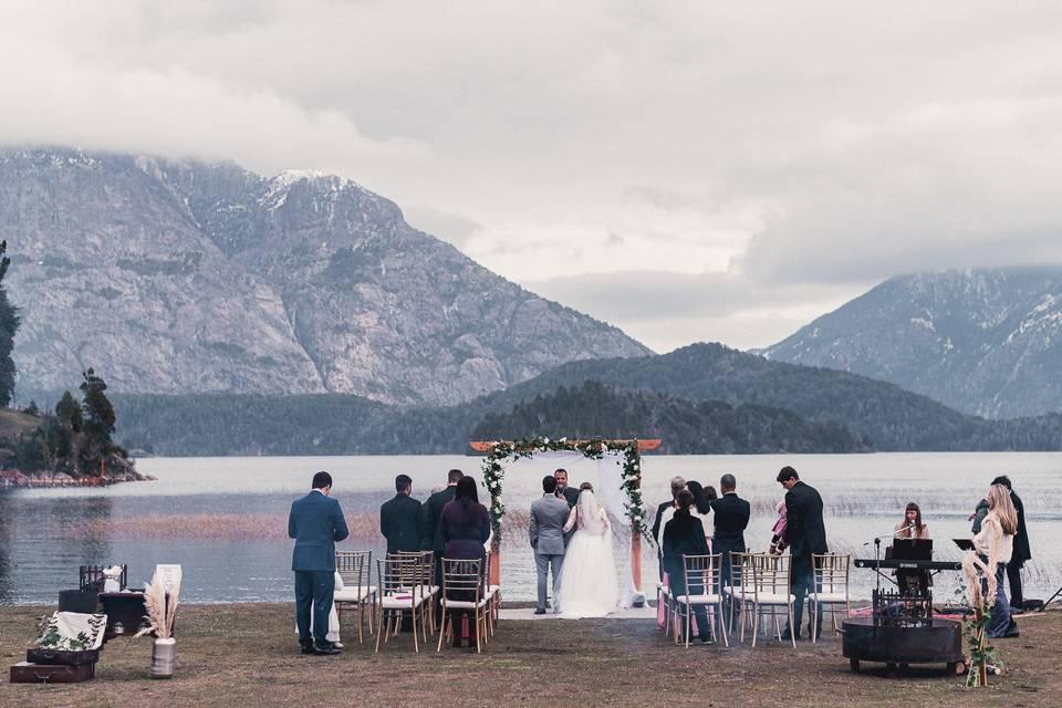 Ceremonia en Hotel Llao Llao
