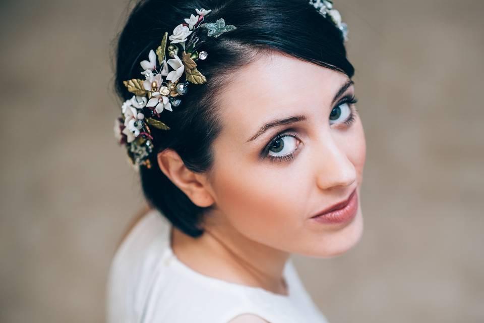 Maquillaje con aerográfo novia